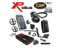 XP DEUS With WS4 Headphones + Remote + 9