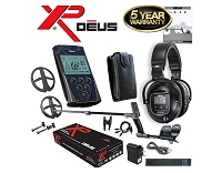 XP DEUS With WS5 Headphones + Remote + 9