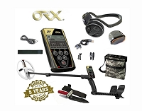 ORX Metal Detector w/WSAudio Wireless Headphones + 9