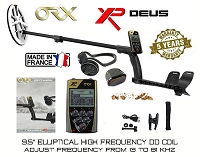 ORX Wireless Metal Detector + WSAudio Wireless Headphone + 9.5