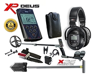XP DEUS with WS5 Headphones +Remote + 9