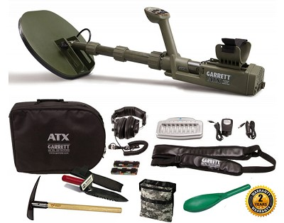 Garrett ATX Basic Package Metal Detector