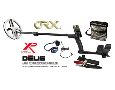"XP ORX Metal Detector with 9"" Round DD HF Waterproof Search Coil"